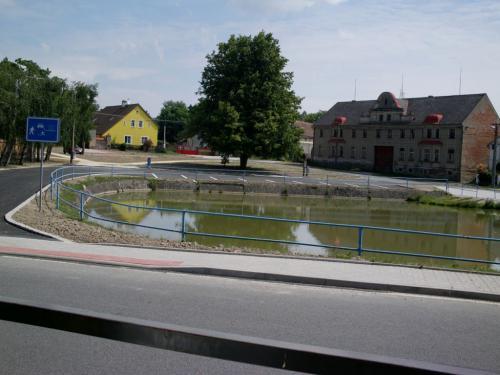 část obce porekonstrukci